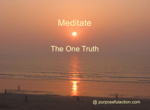 Meditate on One