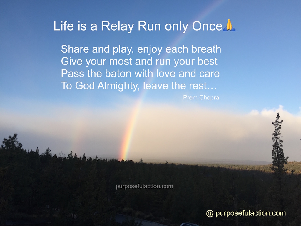 Life is a Relay Run