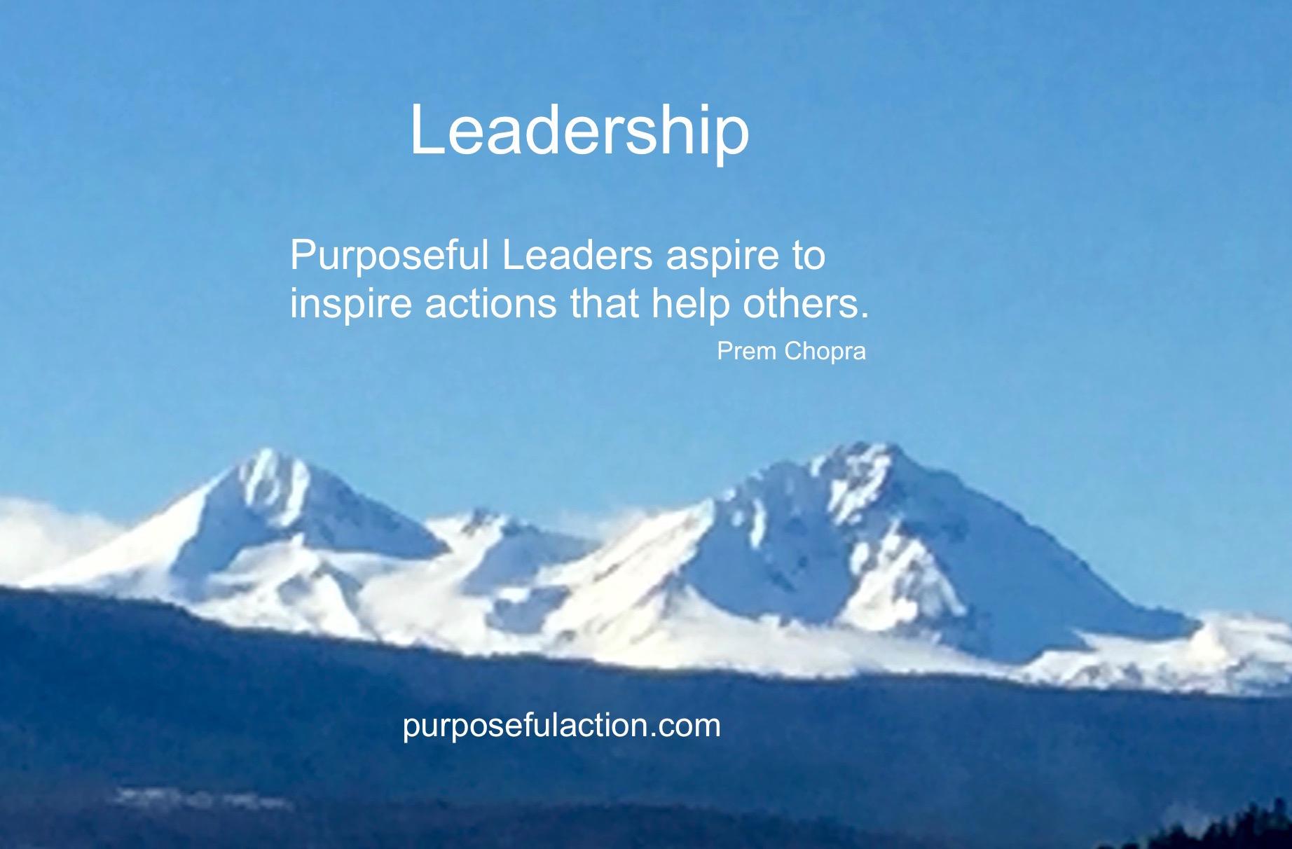 Leadership Inspiration
